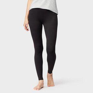 32 Degrees Cozy Heat Extra Warm Black Leggings